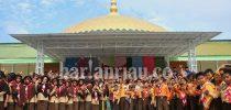 Ribuan Pramuka SIT Se Riau Ikuti Kemah Ukhuwah Ponpes Khairul Ummah